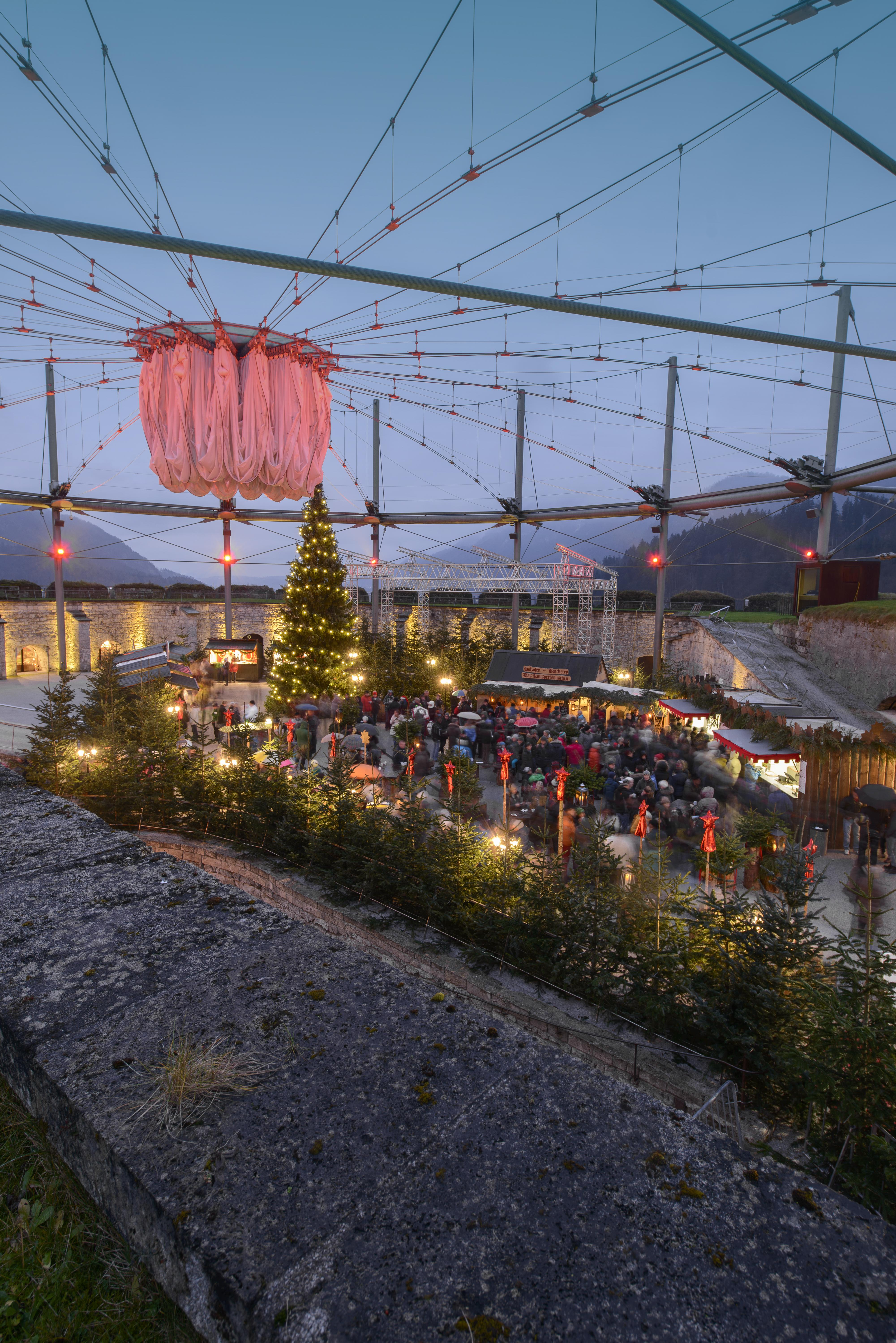 Weihnachtszauber Festung Kufstein_(c) Advent in Tirol (9)