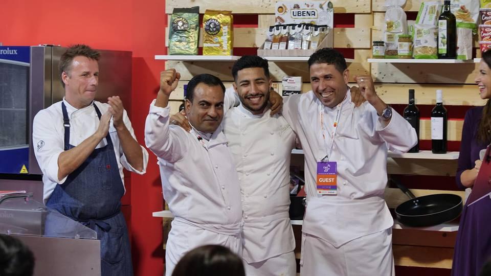 Delegazione chef Tunisia