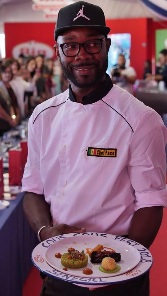 Paco con piatto Senegal