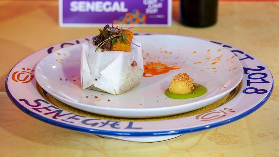 piatto Senegal premio giuria popolare